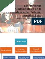 Los Derechos Fundamentales en La Jurisprudencia Del Tribunal