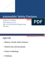 Advancements in Safety Features of Automobiles