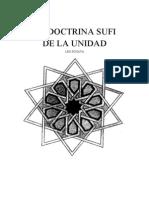 Schaya, Leo - La doctrina sufí de la unidad [Libros en español - sufismo]