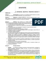 Estatutos, Código de Ética y Régimen de Bancada de la UP