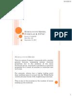 Homologous Series, Formulae & IUPAC