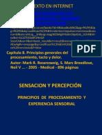 SENSACION Y PERCEPCIÓN