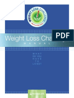 Weight Lose Challenge Manual..HERBALIFE