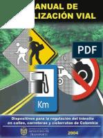 MANUEL DE SEÑALIZACION VIAL
