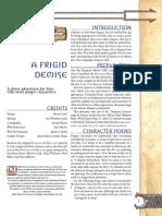 D&D a Frigid Demise(4L13)