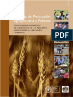 Sistemas de Produccion Agropecuaria y Pobreza
