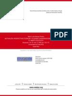 Naranjo, M. (2009). Motivación_ Perspectivas teóricas y algunas consideraciones de su importancia en el ámbito educativo.