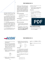 Test Rapido de Hiv 1 y 2 Acon