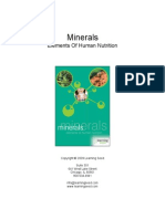 1207 Minerals Elements of Human Nutrition Guide