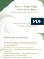 01 - Introdução à programação orientada a objetos