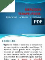 EJERCICIOS TERAPUETICOS