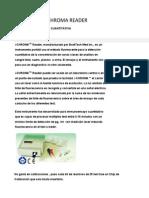 System I-Chroma Reader Info