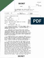 Declassified CIA Memo - SUBJECT