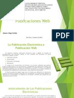 Características de Las Publicaciones Web