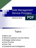 Debt Settlement Letter Sample