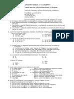 Cuestionario Quimica 1ro Bach