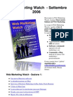Web Marketing Watch n.1 - tendenze e novità di Web Marketing by Enrico Madrigrano - Top Web Marketing and Seo Expert