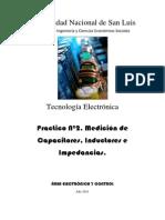Practico 3. Medicion de Capacitores, Inductores e Impedancias