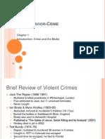 Ch.1 Media & Behavior Crime