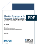NRMP and ECFMG Publish Charting Outcomes in the Match for International Medical Graduates Revised.pdf File