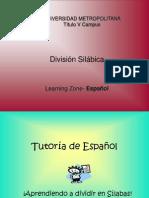 Division Silabica