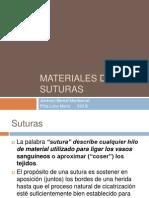 Materiales de Suturas