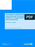 Counselling Training Manual and CEDC