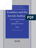 Eusebius and the Jewish Authors 2006