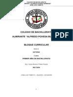 Lineamientos Historia Sociales 1BGU 170913