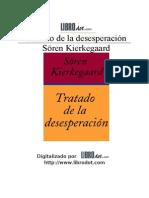 47731607 La Desesperacion Soren Kierkegaard