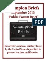 Champion Briefs