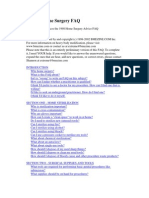 Elective Home Surgery FAQ