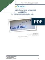Pma y Ficha Ambiental Casa Luker
