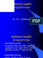 National Health Programmes