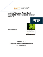 9781782171928_Learning_Windows_Azure_Mobile_Services_for_Windows_8_and_Windows_Phone_8_Sample_Chapter