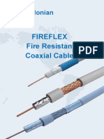 Fire Resistant Coaxial Cables