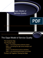 Ch 2 GAPS MODEL of Service Quality2