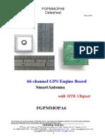 GlobalTop GPS module FGPMMOPA6