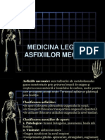 Medicina Legala a Asfixiilor Mecanice anul VI