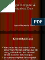 Jaringan Komputer & Komunikasi Data 1