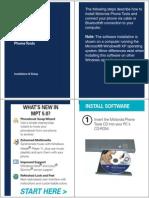 Motorola Phone Tools v5 Installation and Setup