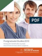 2013 Postgrad Handbook