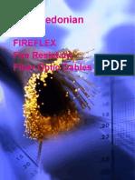 Fire Resistant Fiber Cables