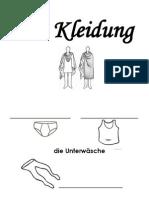 Kleidung Worksheet