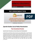 Blog Post Spondo Enables Social Media Monetisation