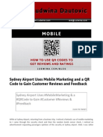 Blog Post Sydney Airport Uses Mobile Marketing and a Qr Code to Gain Customer Reviews and Feedback