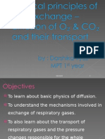 Diffusion , Exchange & Transport of o2 & Co2