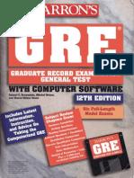 Barron's GRE(12th Edition)