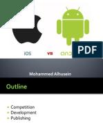 Android vs iOS Presentation