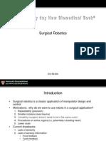 Surgical Robotics